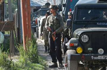 Two terrorists gunned down in encounter with...