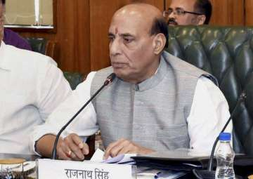 Union Home Minister Rajnath Singh - India TV