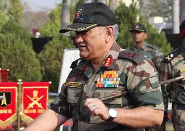 File pic - Army Chief takes stock of op...