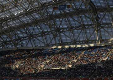 A file photo of Fisht Stadium in Sochi, Russia -...