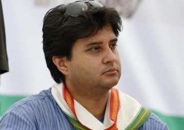 Jyotiraditya Scindia arrested on his way to...