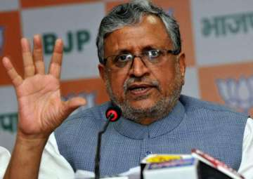 File pic of BJP leader Sushil Kumar Modi - India...