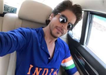 Shah Rukh Khan posted this picture during the...
