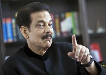 File pic of Subrata Roy - India TV