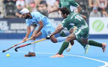 Talwinder Singh of India and Ali Shan of Pakistan...
