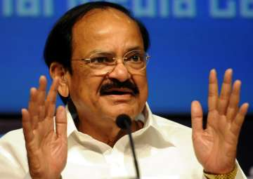 File pic of Union minister M Venkaiah Naidu -...