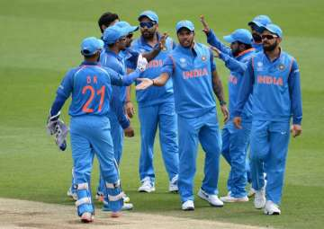 A file image of the Indian team. - India TV