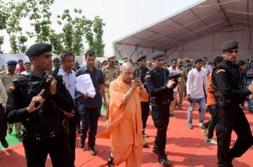 Yogi govt launched a booklet to enlist 100 days'...
