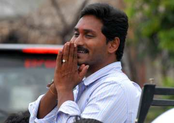File pic of YSRC president YS Jagan Mohan Reddy -...