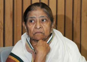 File pic of Zakia Jafri - India TV