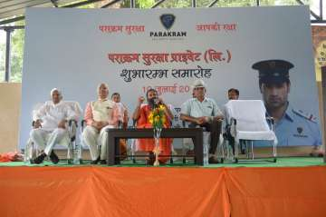 Ramdev launches private security firm Parakram...