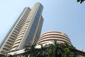 Sensex crosses 32,000, closes at new peak of...
