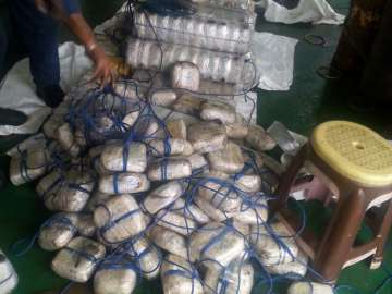 Indian Coast Guard seized 1,500 kgs heroin worth...