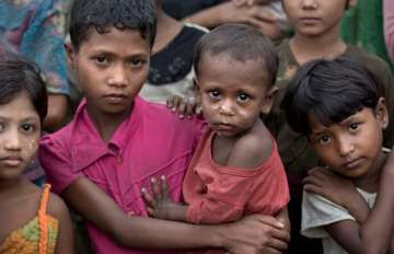 80,000 children 'wasting' from hunger in Myanmar:...