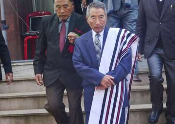 Nagaland CM was stopped from entering Assembly...