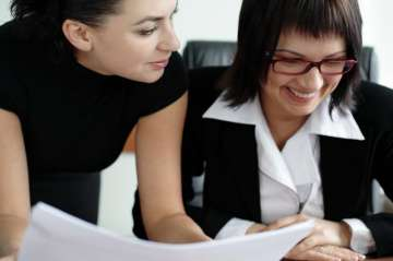 Strong bonding among female co-workers may reduce...