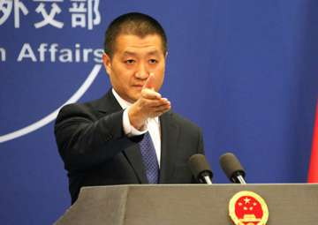 File pic - Foreign Ministry spokesperson Lu Kang...
