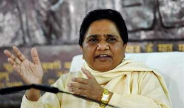 Mayawati says people making up their minds to...