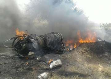IAF's trainer aircraft MiG-23 crashes in...