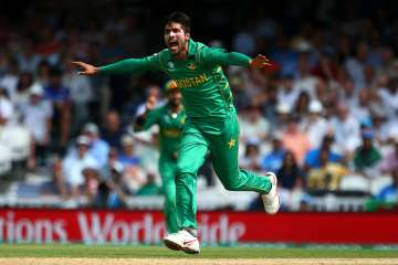 Mohammad Amir appeals during a match - India TV