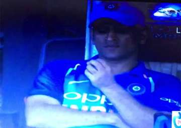 MS Dhoni in tears after Antigua defeat - India TV