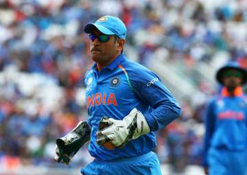 MS Dhoni of India during the ICC Champions Trophy...