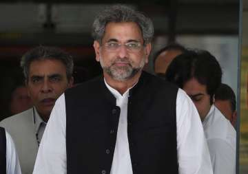 Ruling PML-N has nominated Shahid Khaqan Abbasi...