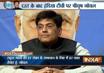 Power Minister Piyush Goyal - India TV