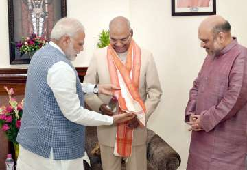 Ram Nath Kovind first BJP leader to be President ...