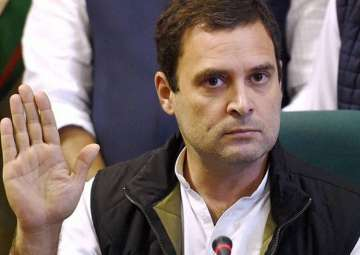 Rahul calls PM Modi 'weak' for accepting US use...