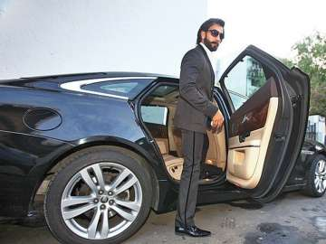 Ranveer Singh was spotted in his brand new white...