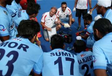 India Hockey Coach