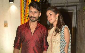 Shahid Kapoor and Mira Rajput - India TV
