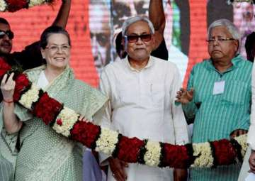 File pic - Sonia steps in to save...