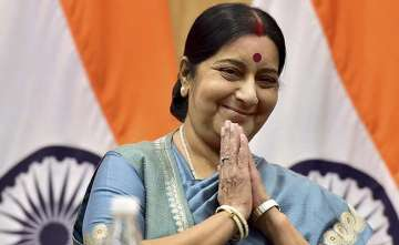 Man arrested for using forged letters of Sushma...