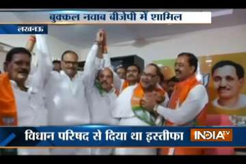 Bukkal Nawab joins BJP with two other former MLCs...