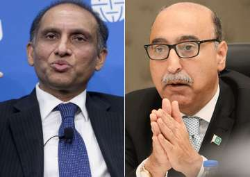 Aizaz Ahmad Chaudhry and Abdul Basit - India TV