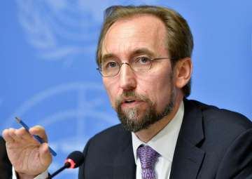 UN High Commissioner for Human Rights Zeid Ra'ad...