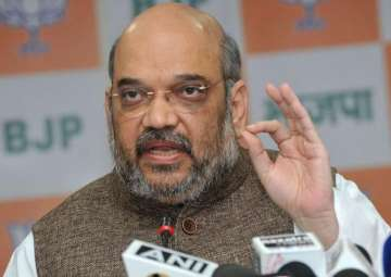 Amit Shah completes three years as BJP president...
