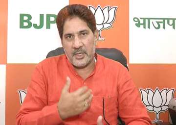 File pic of Haryana BJP chief Subhash Barala -...