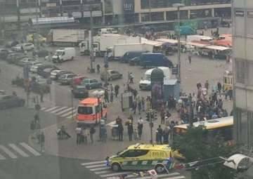 Several wounded in Finland stabbing; suspect shot...