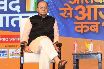 Arun Jaitley at Vande Mataram India TV - India TV