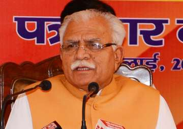 Dera violence: BJP rules out removal of Haryana...