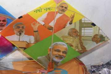 On Independence Day, kites with GST, Modi images...