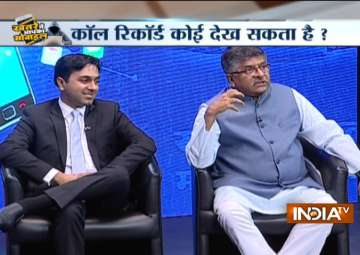 Special show on 'mobile hacking' - India TV