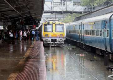 File pic - Operations of trains were halted after...