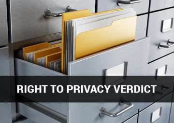 Right to Privacy a fundamental right, rules SC:...