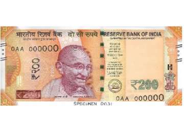 New series of Rs 200 notes will be issued...