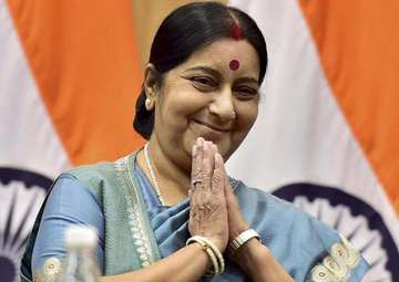 File pic of Sushma Swaraj - India TV