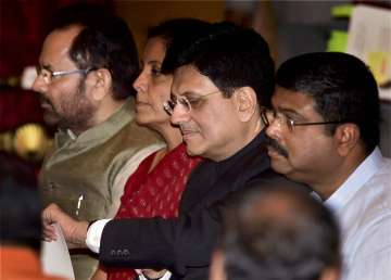 Piyush Goyal was appointed Railways Minister...